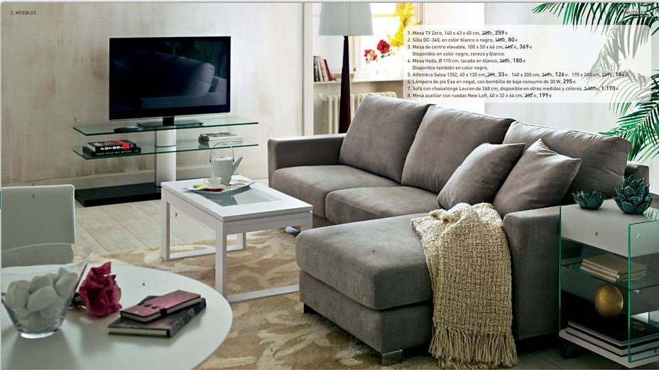 Muebles en el corte ingles for Muebles corte ingles outlet